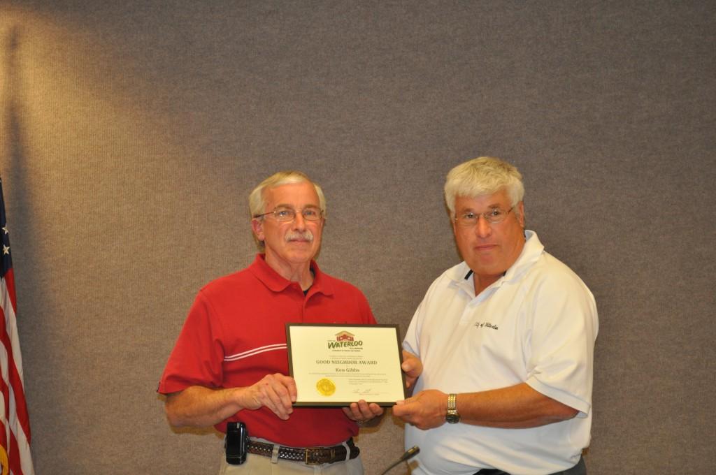 Good Neighbor Award-Gibbs