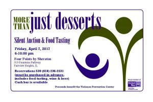 More Than Just Desserts Flyer