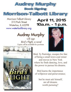 Audrey Murphy Signing Bird's Flight @ Morrison-Talbott Library | Waterloo | Illinois | United States