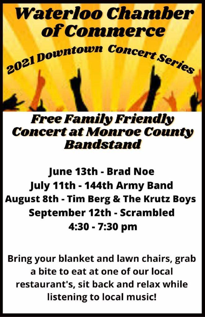Chamber Concert Series Event Flyer