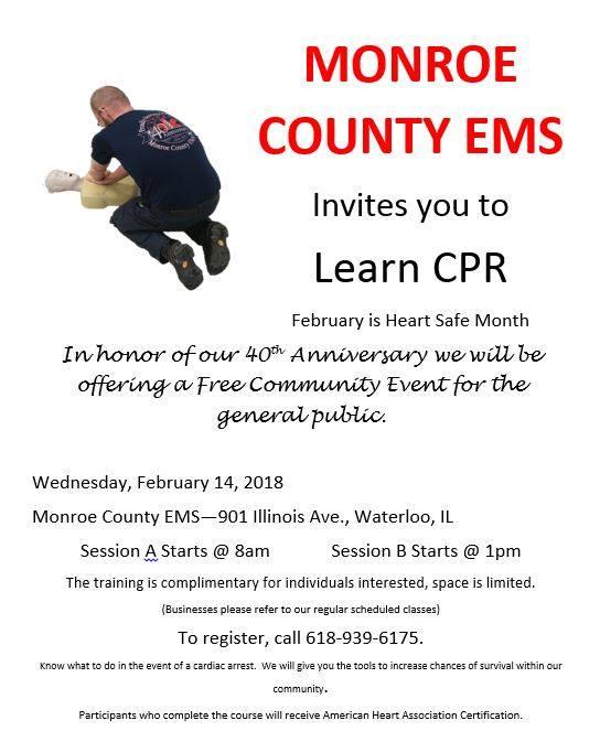 CPR Class flyer