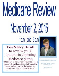 Medicare Review @ Morrison-Talbott Library | Waterloo | Illinois | United States