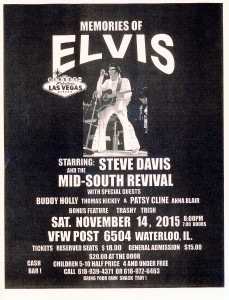 Memories of Elvis @ Waterloo VFW