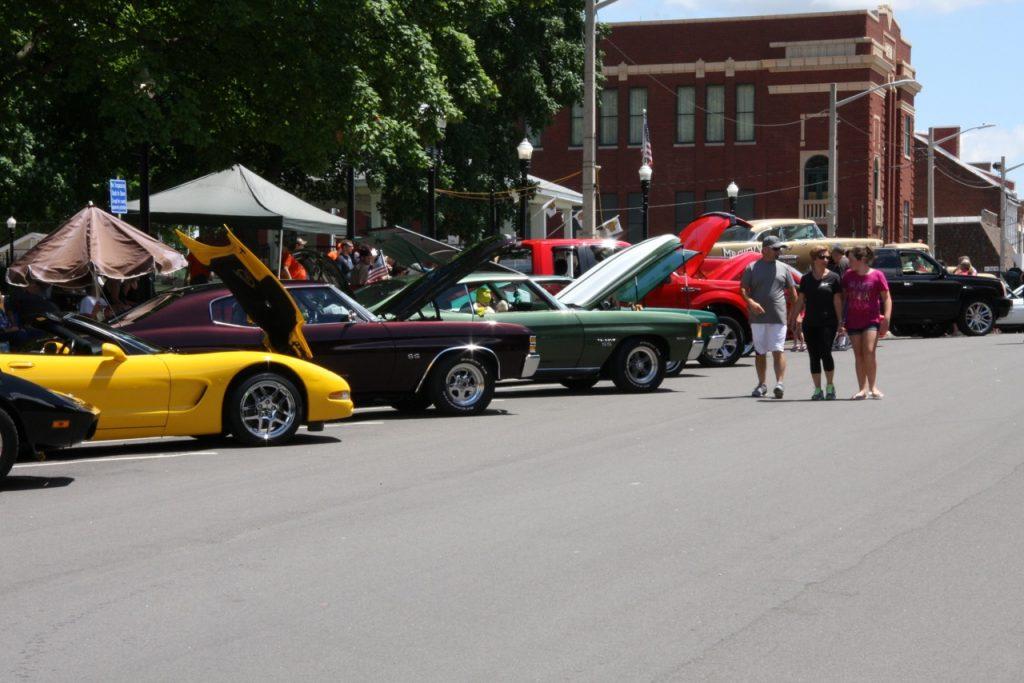Waterloo Optimist Club Car Show @ Waterloo Courthouse Square   Waterloo   Illinois   United States