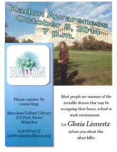 Radon Awareness @ Morrison-Talbott Library | Waterloo | Illinois | United States