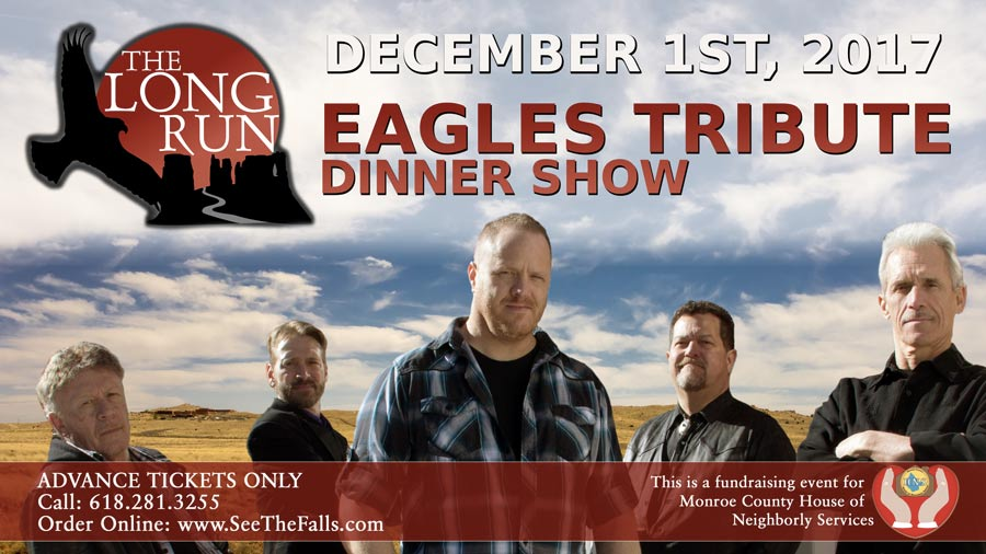Eagles Tribute Dinner Show Flyer