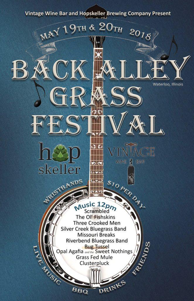 back alley grass festival flyer