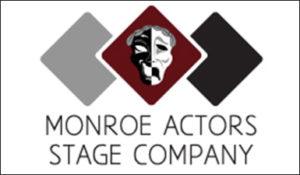 Monroe Actors Stage Co Logo