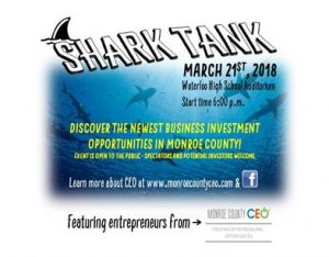 Monroe County CEO Shark Tank @ WHS Auditorium