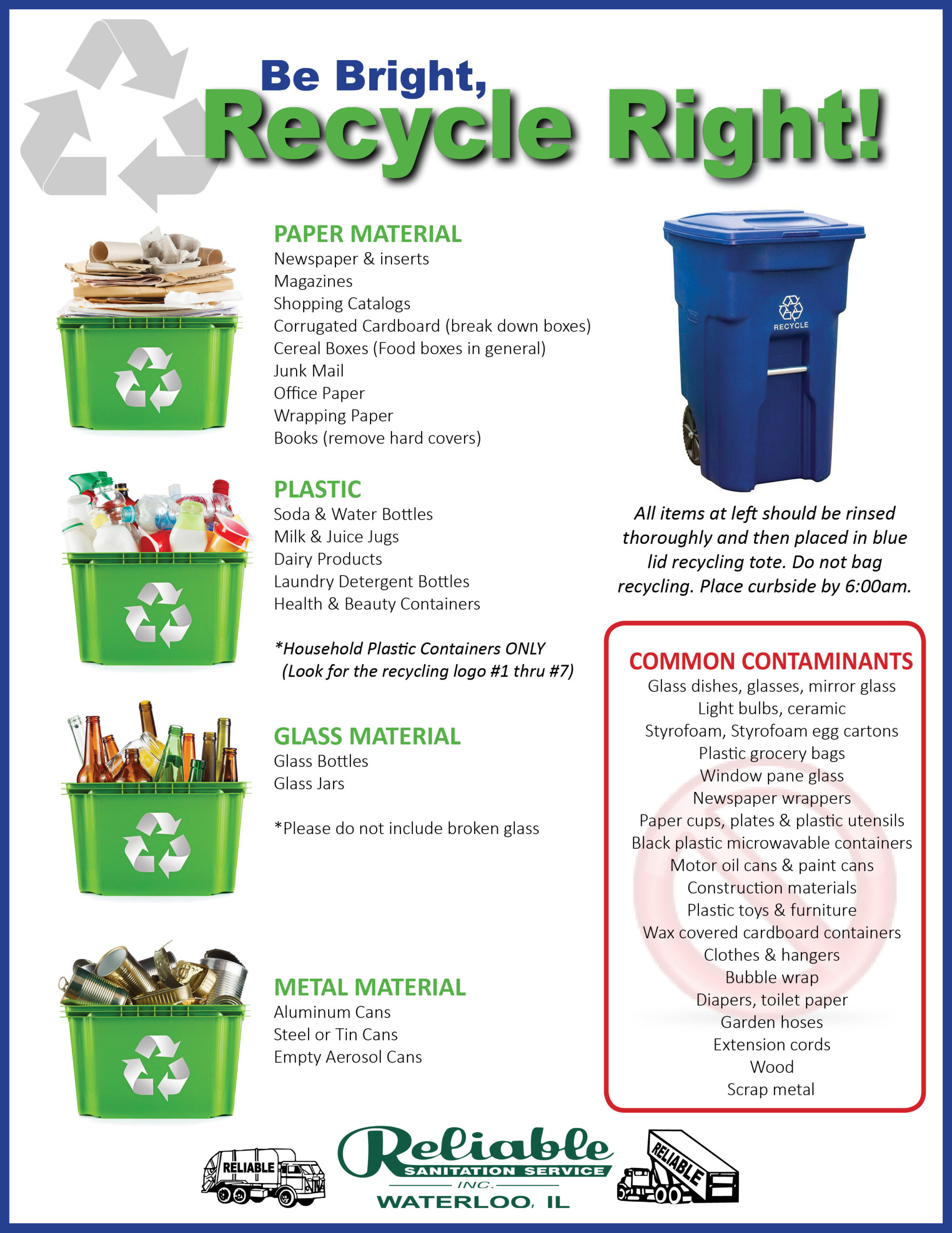 Recycling Program Flyer