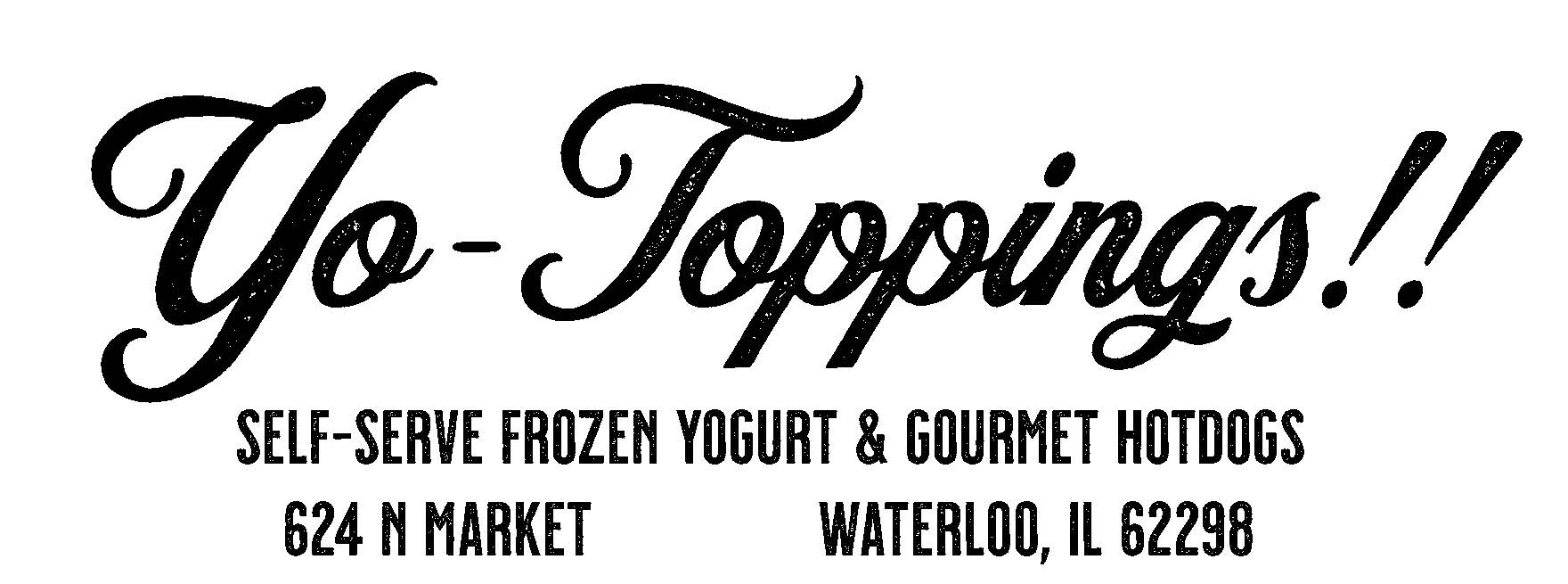 Yo Toppings Logo